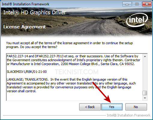 Cara instal driver VGA laptop