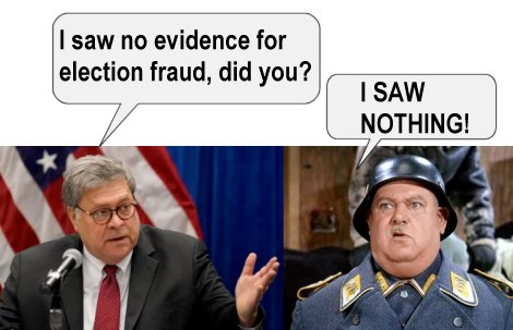 Election fraud?