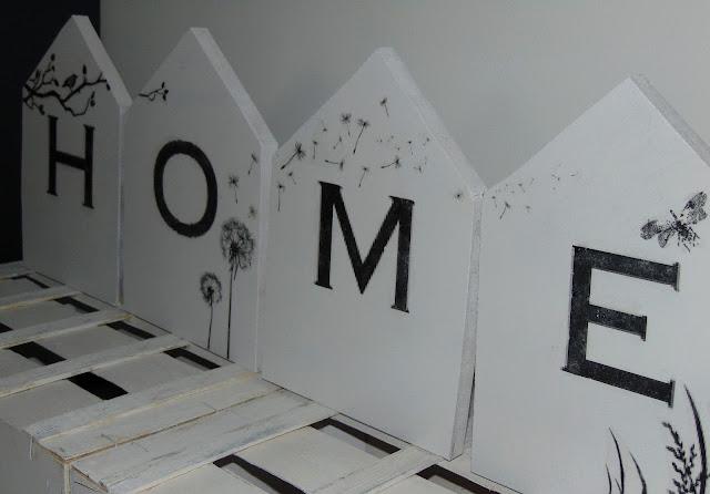 dekoracyjne domki ze sklejki