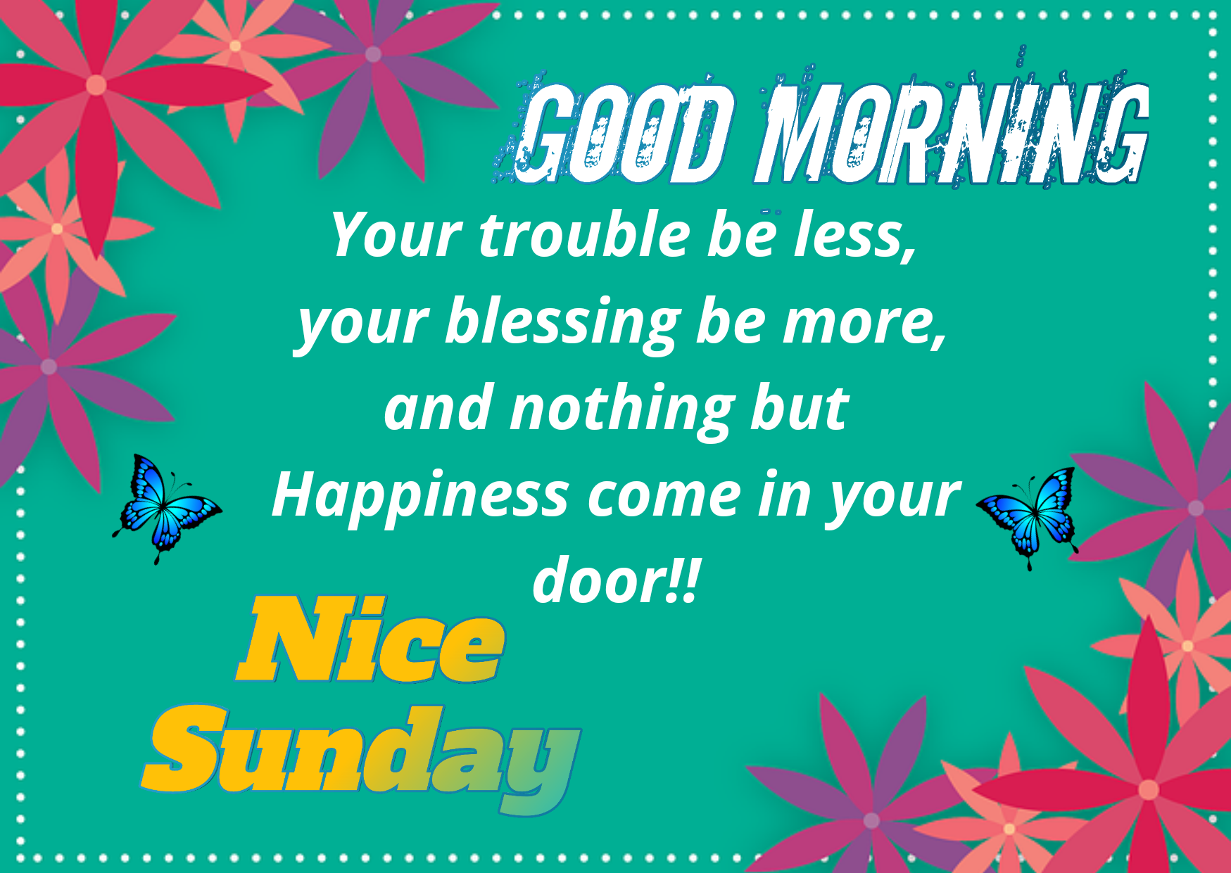 Happy Sunday  Wishes, Images, Wallpaper, Quotes, For Whatsapp, Free download,