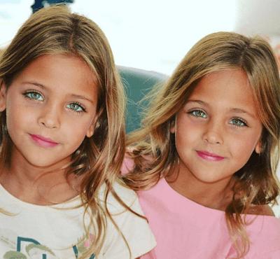 Anak Gadis Kembar Tercantik Di Dunia