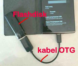 Cara Mengubah Flashdisk jadi memori HP android