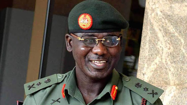 Buratai Said that 99% of terr@rists are Nigerians