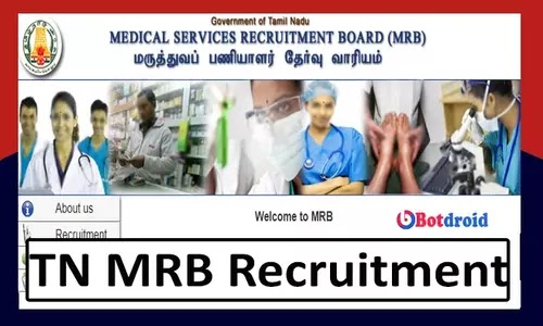 TN MRB Recruitment 2021, Apply Online for Food Safety Officer Jobs in Tamil Nadu