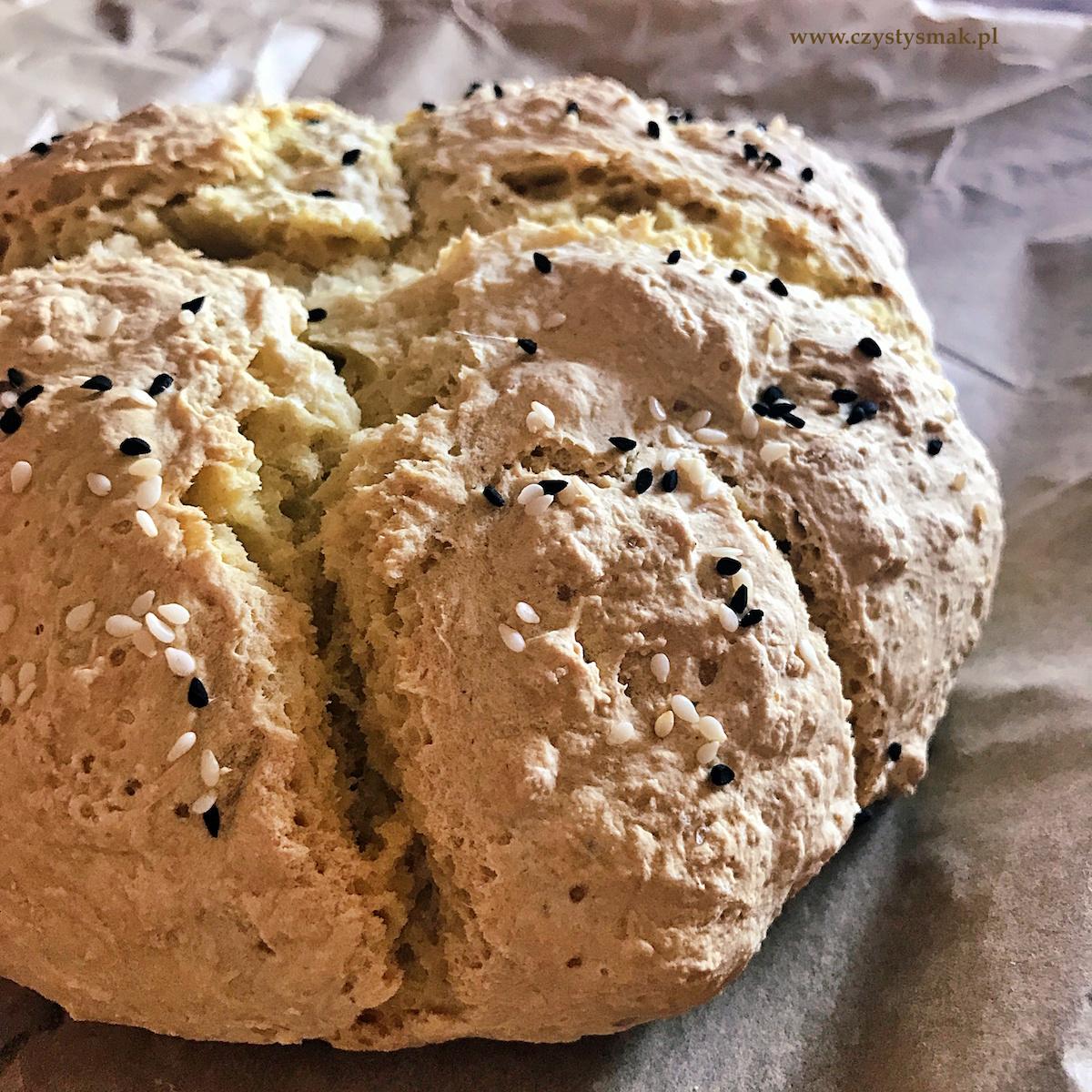 Chleb bez drożdży i zakwasu