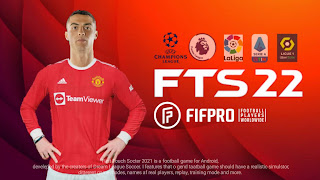 FTS 22 Download Latest Version (Ronaldo In Man U) Apk Obb Data । First Touch Soccer 2022