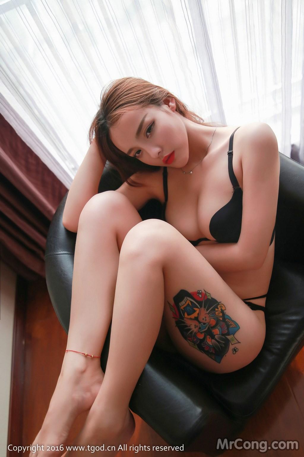 Image MrCong.com-TGOD-2016-07-22-Zhan-Ni-Hua-008 in post TGOD 2016-07-22: Người mẫu Zhan Ni Hua (珍妮花) (40 ảnh)
