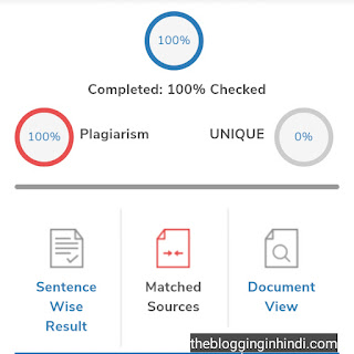 Best free online plagiarism checkers tools with percentage