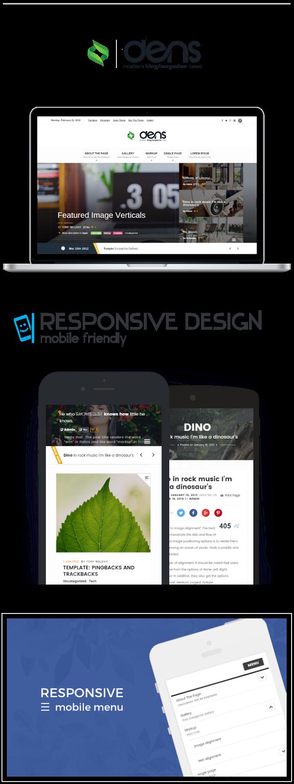 dens - Theme for Magazine And Blog