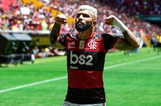 Crédito: Alexandre Vidal/Flamengo - fonte da foto: A Gazeta.