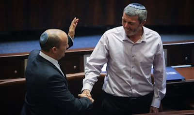 Enquete: Casa Judaica lidera nova direita, azul e branco lidera Likud