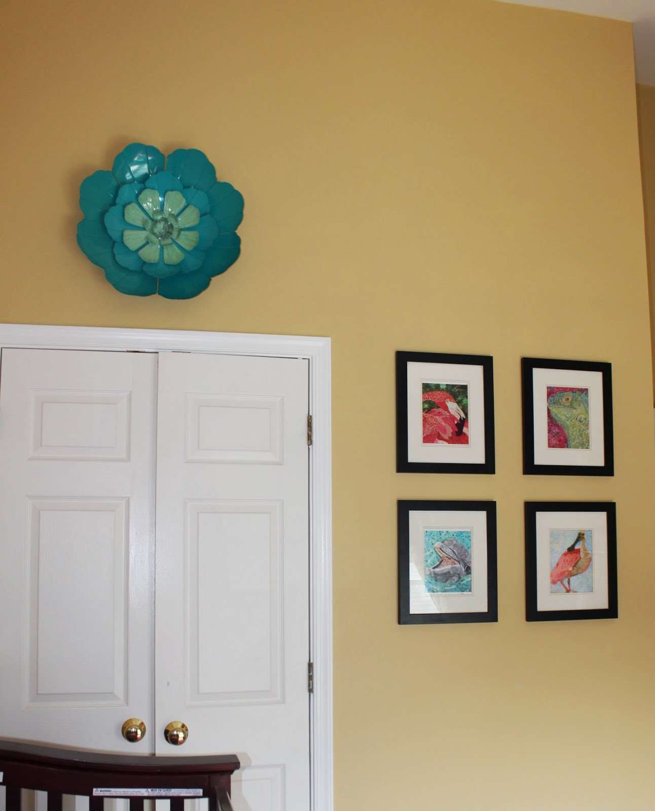 Bliss In Imperfection A Teal and Pink Nursery For The
