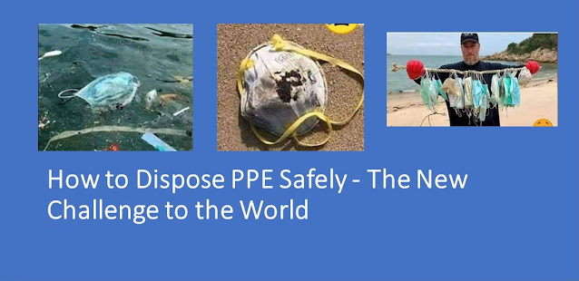 Disposing PPE Items safely