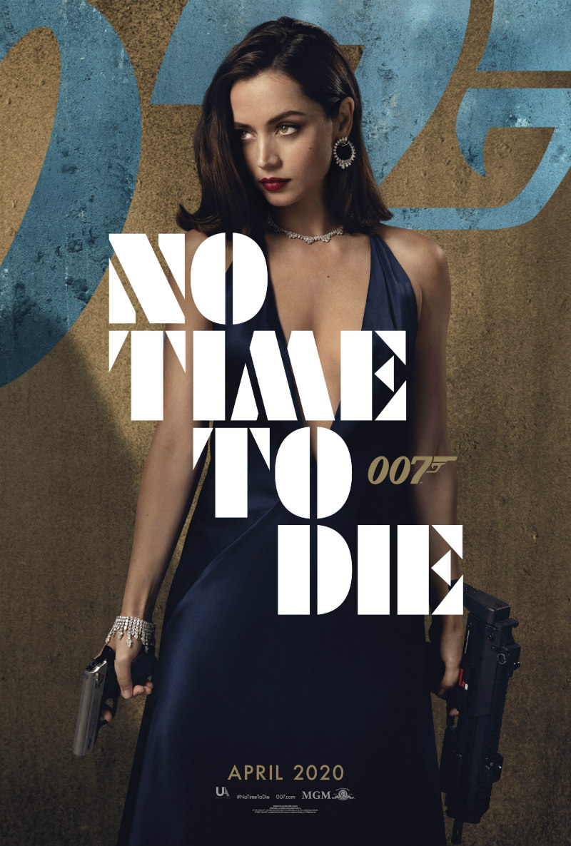 no time to die poster ana de armas