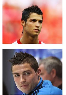 Gaya Rambut Cristiano Ronaldo dari Tahun Ke Tahun-2017 Keren!