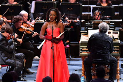 Handel: Jephtha - Jeanine De Bique, Scottish Chamber Orchestra, Richard Egarr - BBC Proms (Photo BBC / Chris Christodoulou)