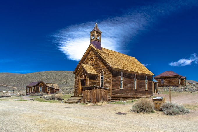 Old Church at Bodie State Park