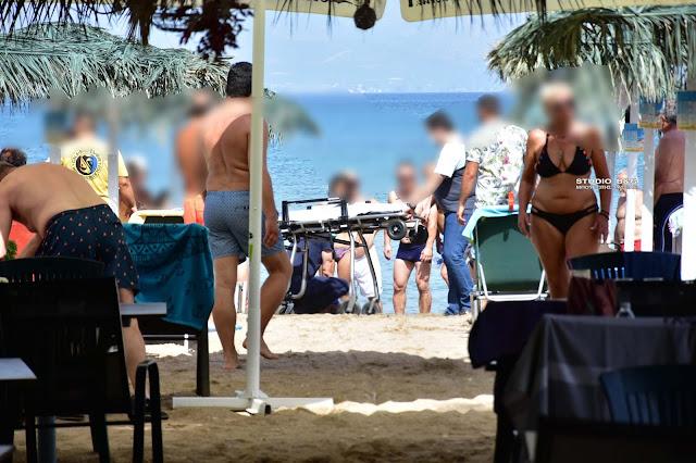 Νεκρός ηλικιωμένος στην παραλία Καραθώνας στο Ναύπλιο