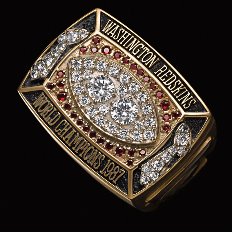 Washington Redskins Championship Ring from Super Bowl XXII