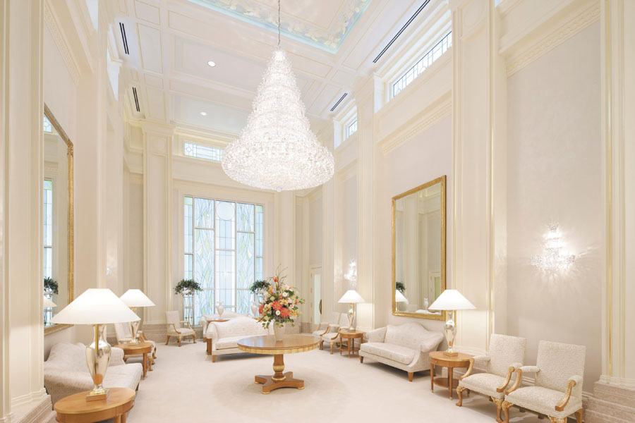 What crystal chandeliers in the temple remind me of | Scriptorium ...
