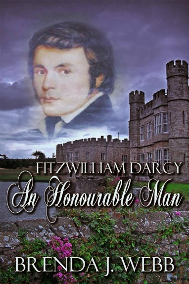 Book cover - Fitzwilliam Darcy An Honourable Man by Brenda Webb