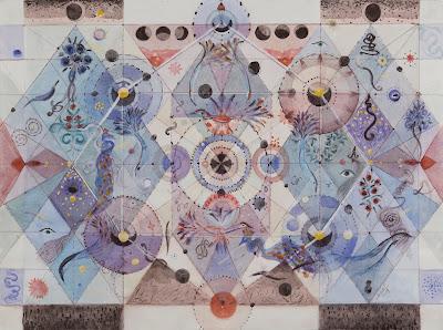 "#Solange Knopf #dessins#""Cosmos"""