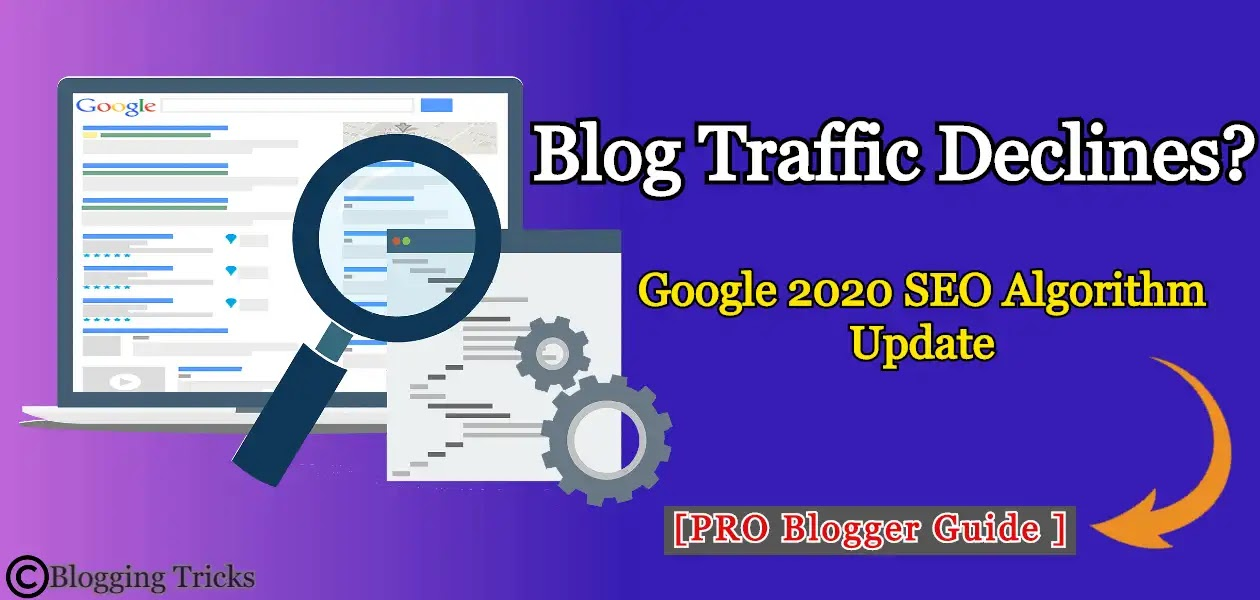 Blog Traffic Declines? This is the Google 2020 SEO Algorithm Update