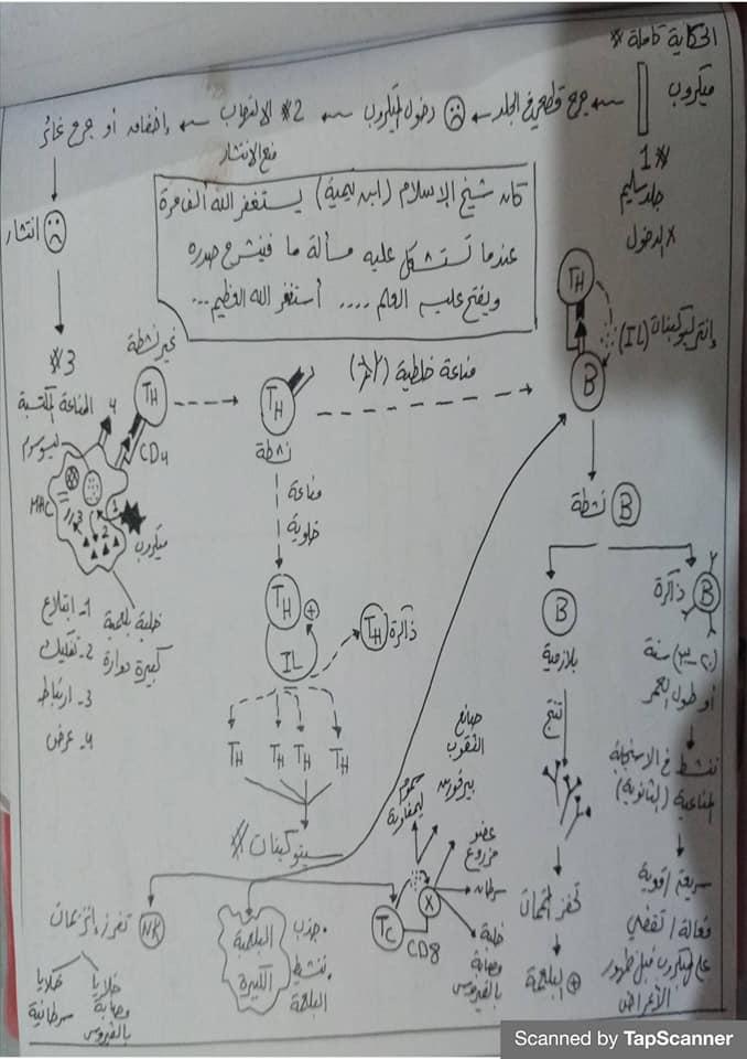 مراجعة المناعة أحياء للثالث الثانوي مستر محرم 11