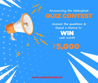 Win Real Cash of Rs.5000 for Free