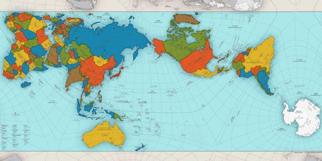 O mapa-múndi como ele realmente é
