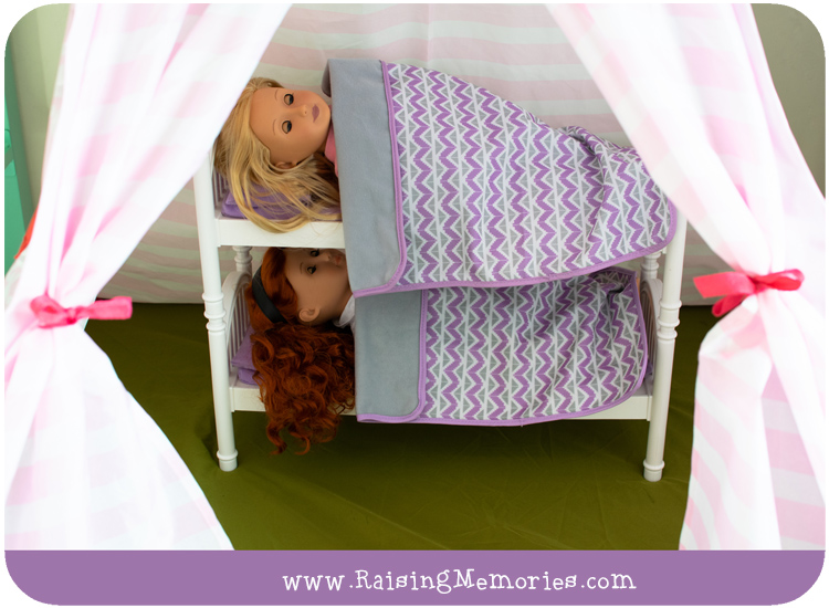 Shared Tween Girls Bedroom