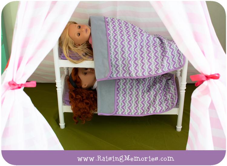 Shared Tween Girls Bedroom