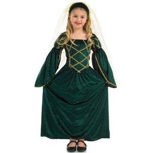Little girls Tudor dress from Amazon