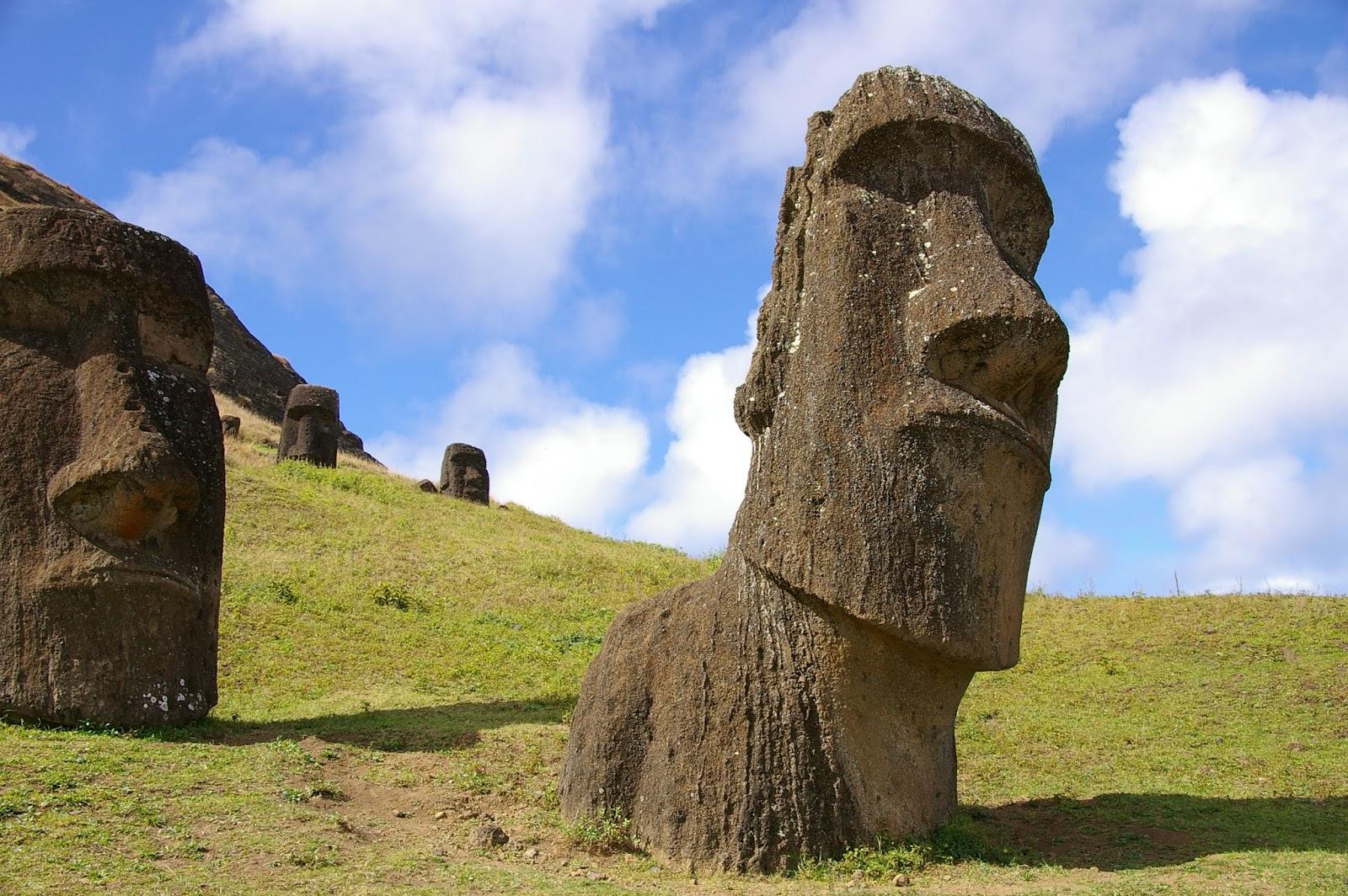 Chile Wyspa Wielkanocna moai