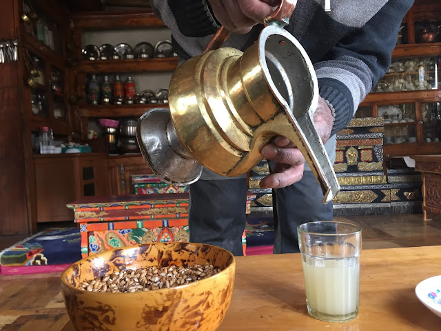 local Leh wheat drink
