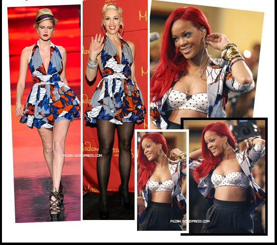 HOUSE OF MALIQ Magazine: Gwen Stefani And Rihanna-African