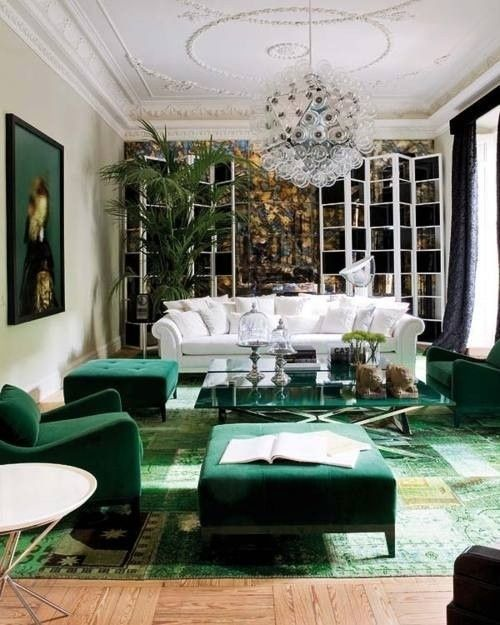 Fresh Green Living Rooms Design Pictures Remodel Decor and Ideas