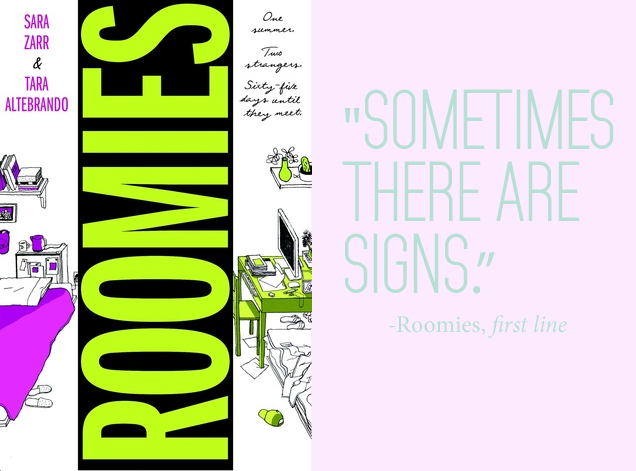 Roomies by Sara Zarr and Tara Altebrando
