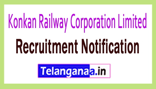 Konkan Railway Corporation Limited KRCL Recruitment Notification