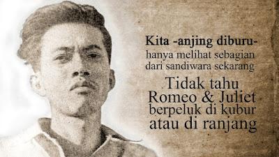 Kumpulan 16+ Contoh Puisi Karya Chairil Anwar | Bahasa Indonesia Kelas 8 (Revisi 2017)