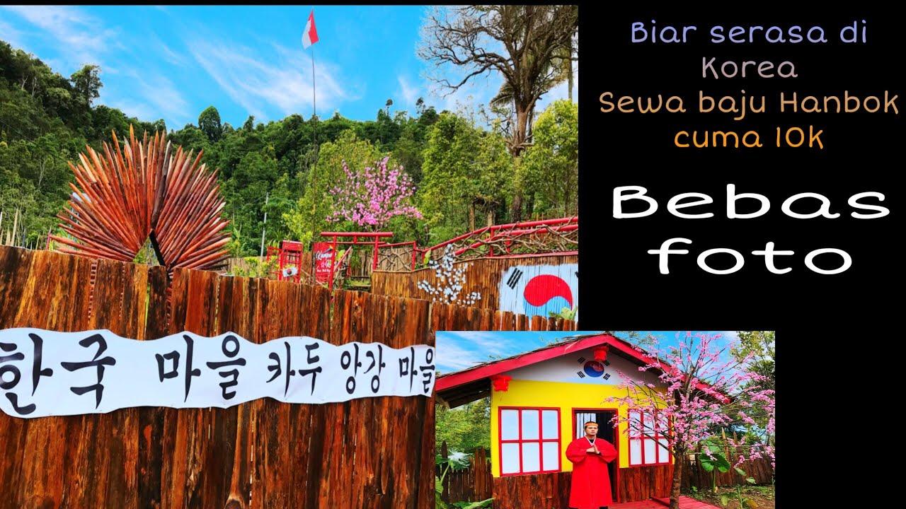 Kampung korea Di Kaduengang Gunung Karang Pandeglang