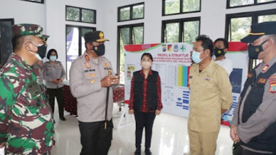 Kapolda Nana Sudjana Cek Posko PPKM Berskala Mikro di Malalayang