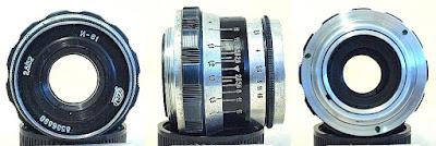 Industar-61 Silver Barrel 52mm F2.8 (M39-mount) #890