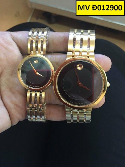 Đồng hồ cặp đôi Movado Đ012900