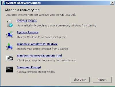 Meperbaiki Windows Tanpa Melakukan Install Ulang