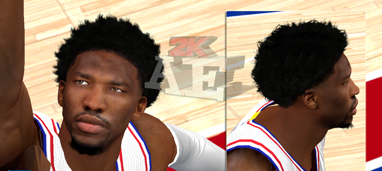 Joel Embid HD Cyberface [FOR 2K14] - NBA 2K Updates ...