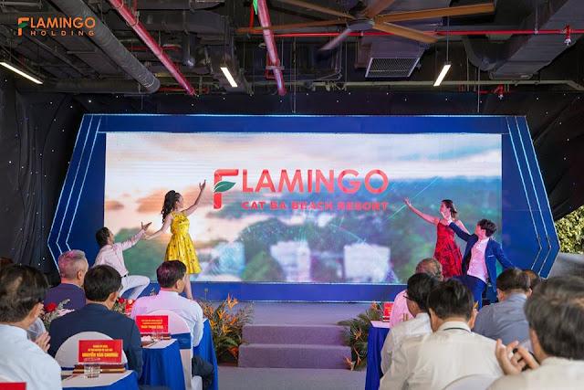 khai trương flamingo cát bà beach resort