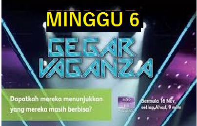 Konsert Gegar Vaganza 2014 Minggu 6
