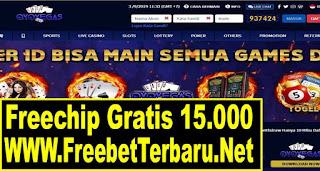 Freebet Gratis OVOVegas Senilai 15.000