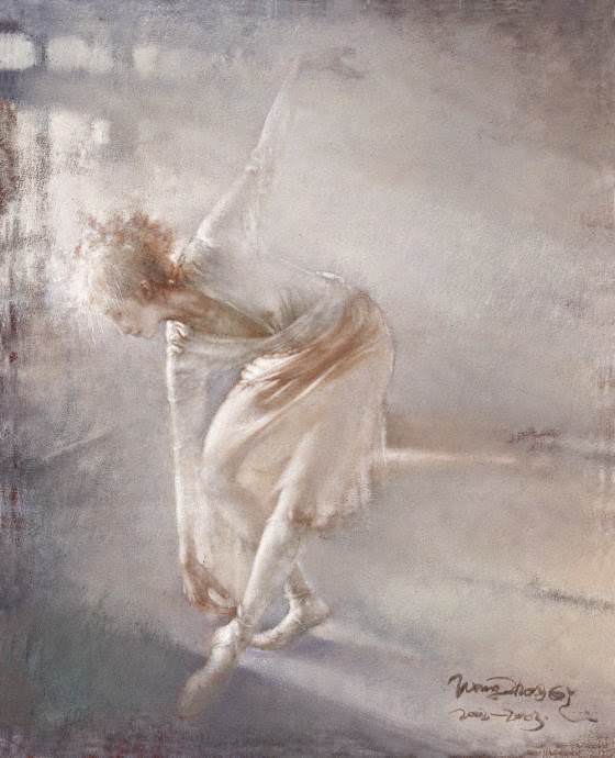 Pintura de Wang Qi Zhong